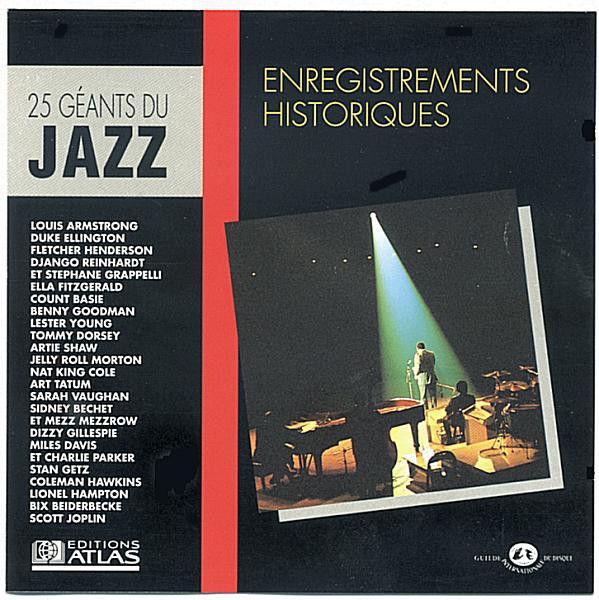 cd 25 Géants Du Jazz: Enregistrements Historiques (etat neuf 8 Martigues (13)