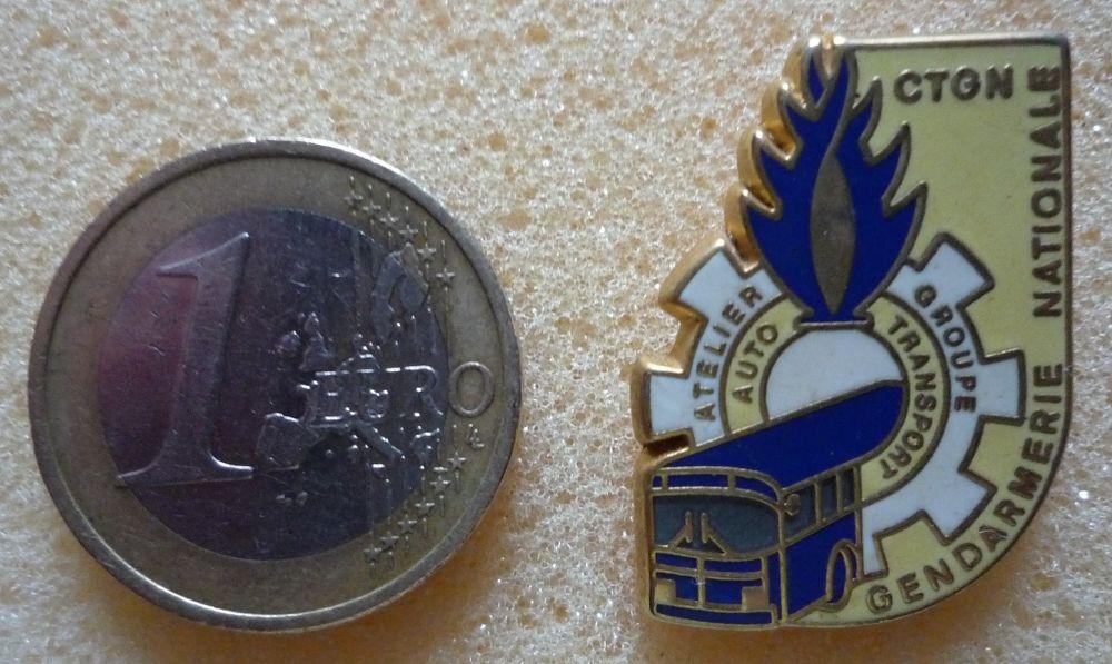 Pin's Gendarmerie CTGN 2 Paris 13 (75)