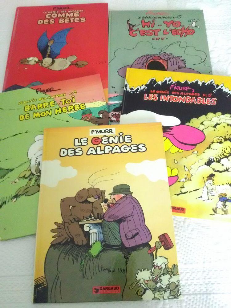 Lot de 5 BD  Le génie des alpages  (F'MURR) 30 Paris 12 (75)