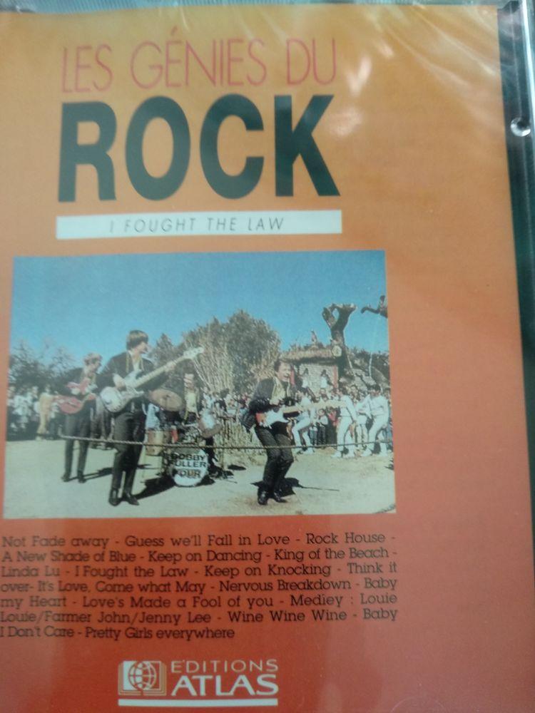 CD génies du rock 120 Villeneuve-la-Garenne (92)