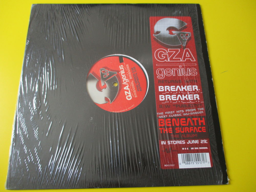 GZA /THE GENIUS WU TANG CLAN MAXI 45 TOURS 20 Lognes (77)