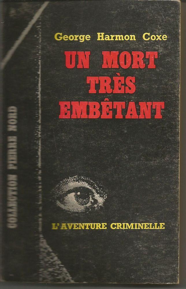 George Harmon Coxe : un mort très embêtant  2 Montauban (82)