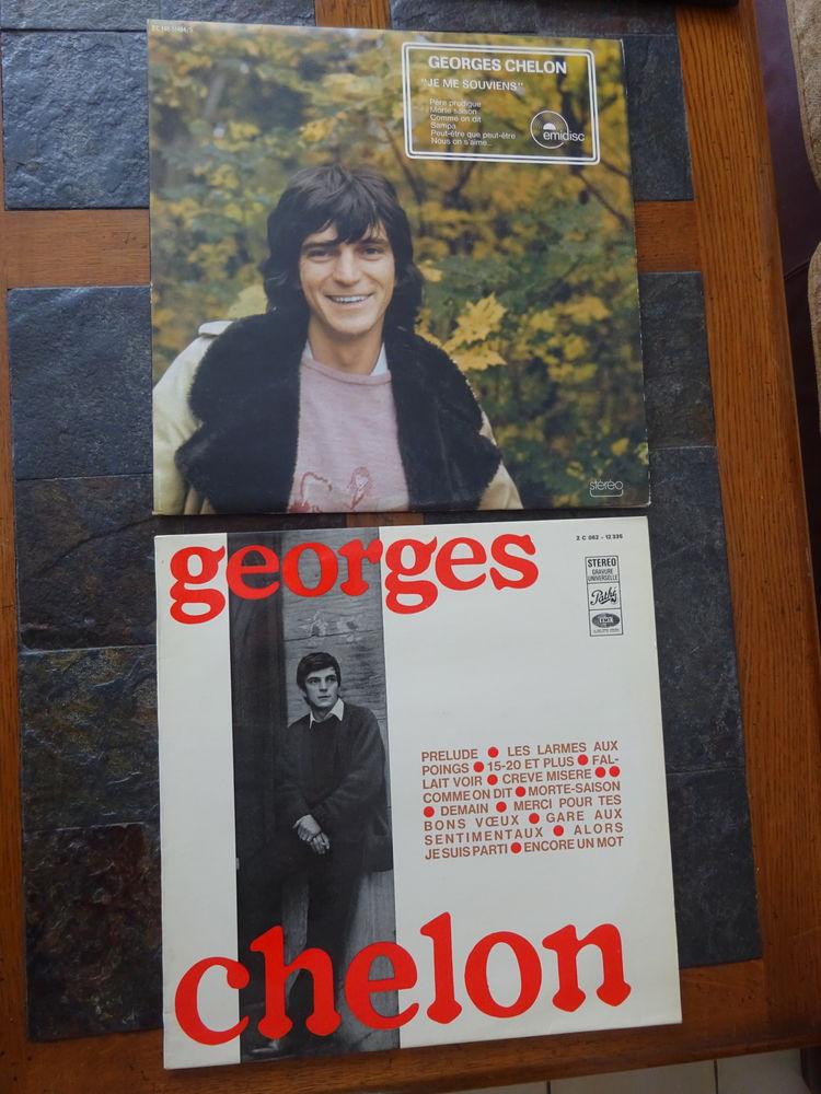 GEORGES CHELON, 2 vinyles 1976 5 Éragny (95)
