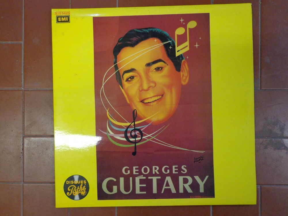 GEORGES GUETARY, double vinyle de 1978 10 Éragny (95)