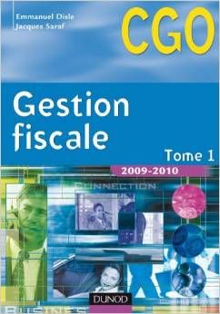Gestion fiscale - Tome 1 - CGO 6 Maringues (63)
