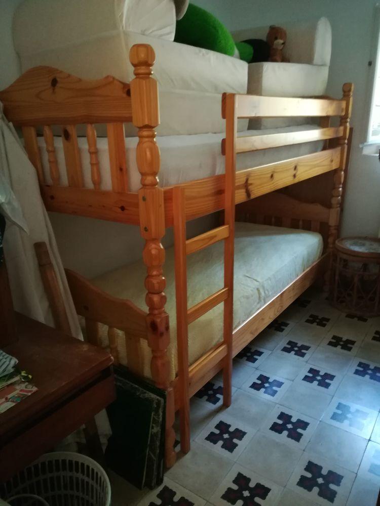 lit gigogne à étages en bois massif 250 Tamaris Sur Mer (83)