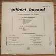 GILBERT BÉCAUD-33t 25cm-MES GRANDS SUCCÈS Mes Mains-BIEM 54 CD et vinyles