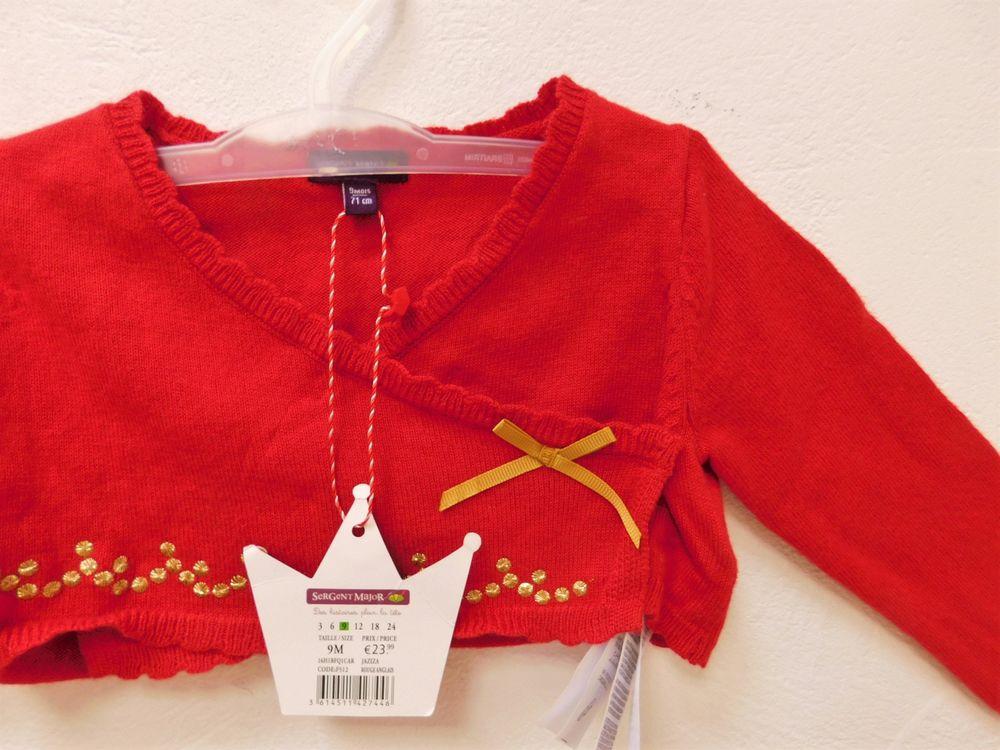 Gilet bébé laine, Sergent Major, Neuf avec étiquette 7 Paris 15 (75)