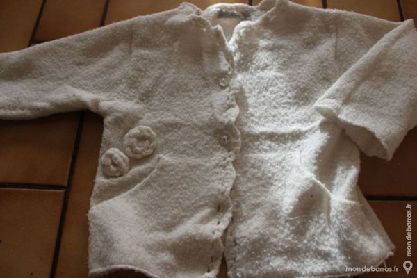 Gilet blanc in extenso 18 mois 5 Wervicq-Sud (59)