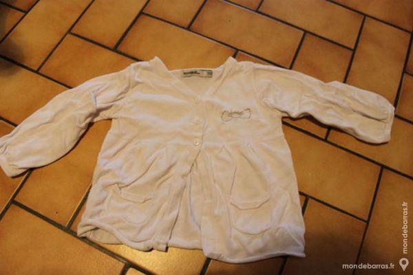 Gilet blanc tao 18 mois 4 Wervicq-Sud (59)