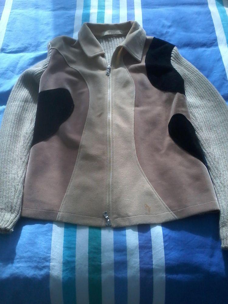 Gilet en daim et laine de marque tengxu 20 Tourcoing (59)