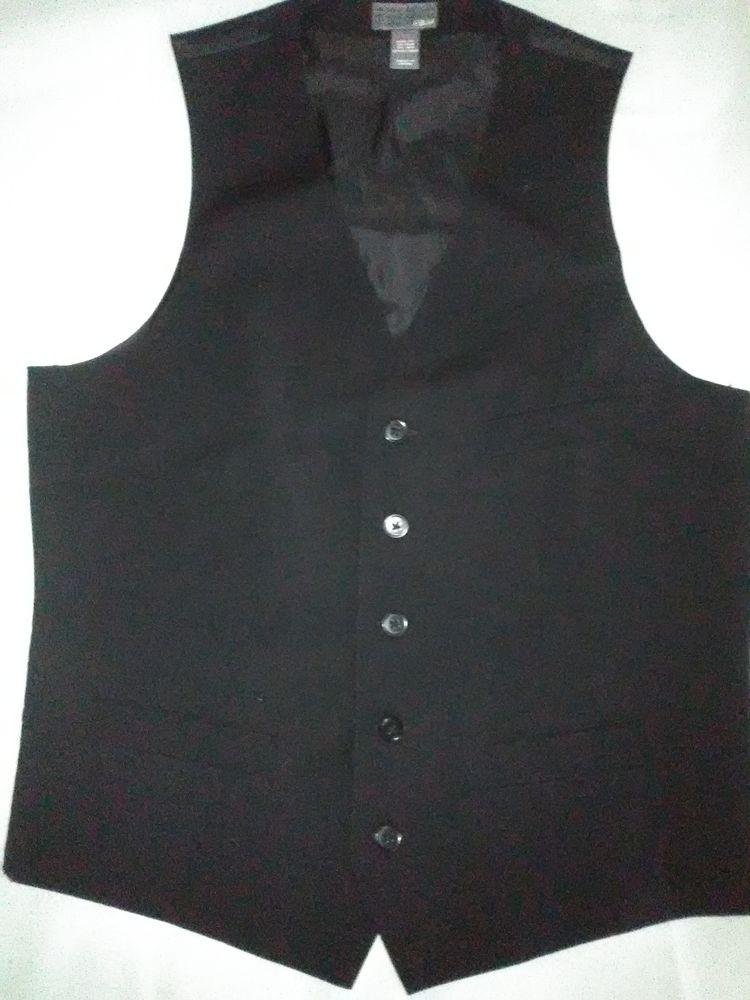 Gilet habillé Noir 8 Taillades (84)