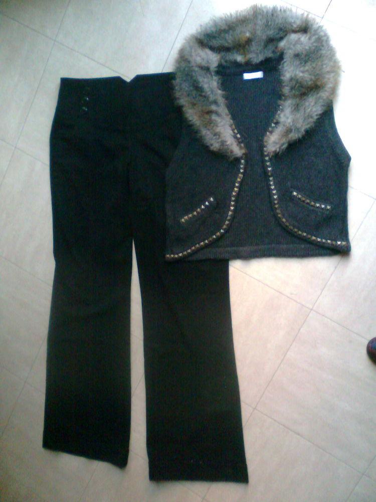 pt gilet t.2 -pantalon noir 38 - zoe 6 Martigues (13)