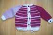 lot de 2 gilets fait mains de 6/12 mois Vêtements enfants
