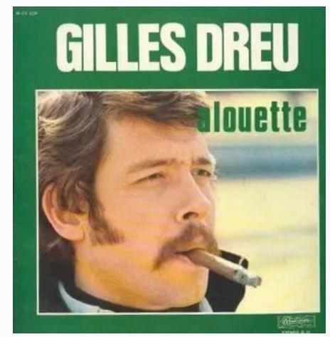 GILLES DREU, vinyle de 1972 6 Éragny (95)