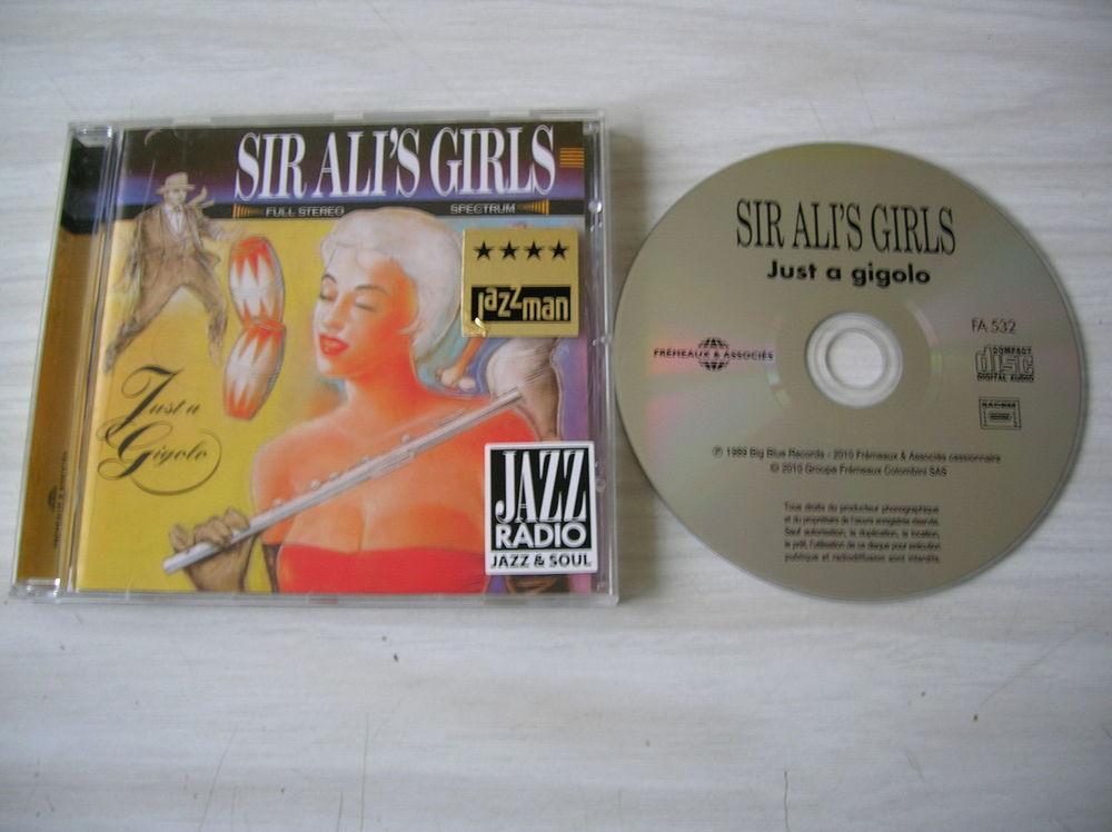 CD SIR ALI'S GIRL Just a gigolo 6 Nantes (44)