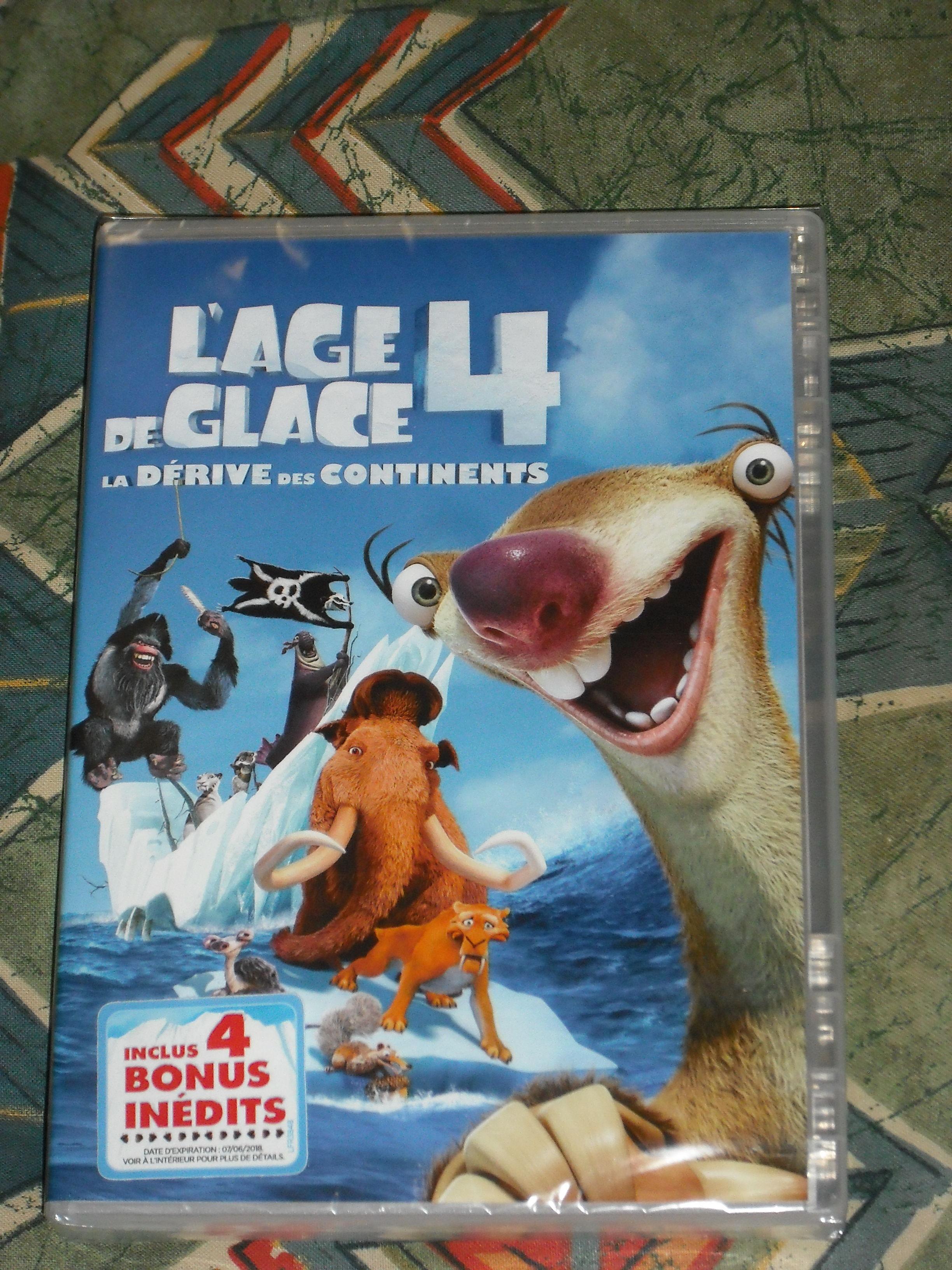 DVD l'Age de glace 4 neuf    6 euros 6 Cramont (80)
