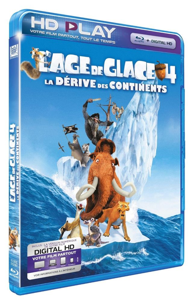L'âge de glace 4 Blu-ray NEUF 5 Houdemont (54)
