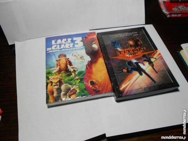 2 DVD AGE DE GLACE 3 ET TITAN A E 26 Montauban (82)