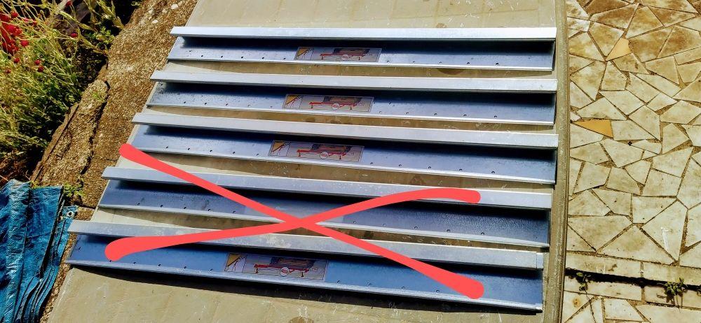 lot de glissières métalliques extensibles pour Velux 15 Bois-Guillaume (76)