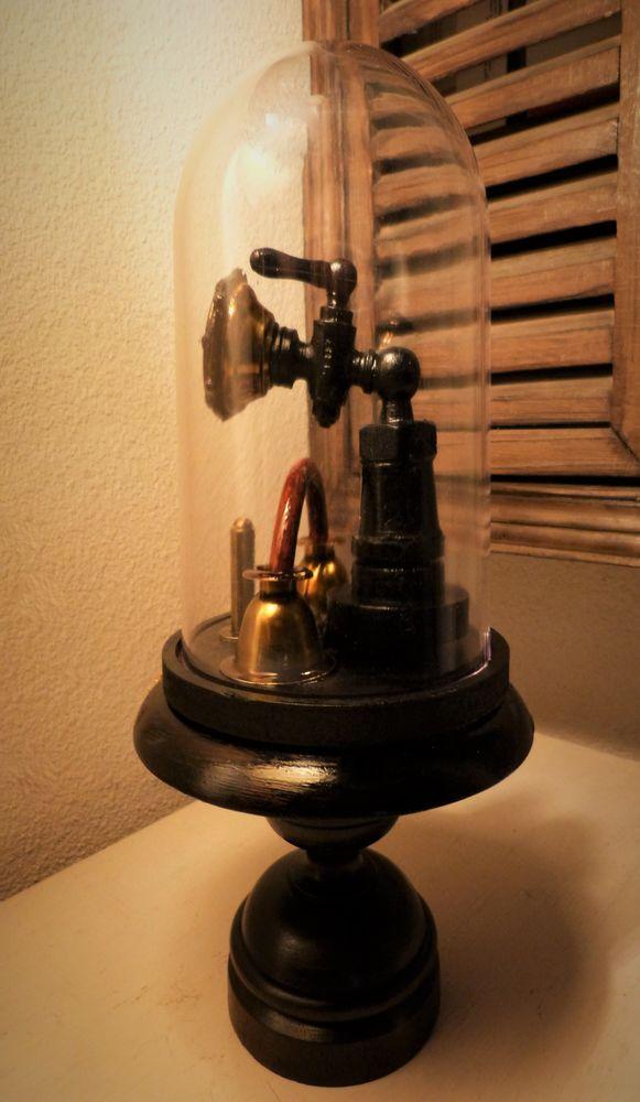 Globe de Curiosité   OLD CURIOSITY  Steampunk. 60 Mont-de-Marsan (40)