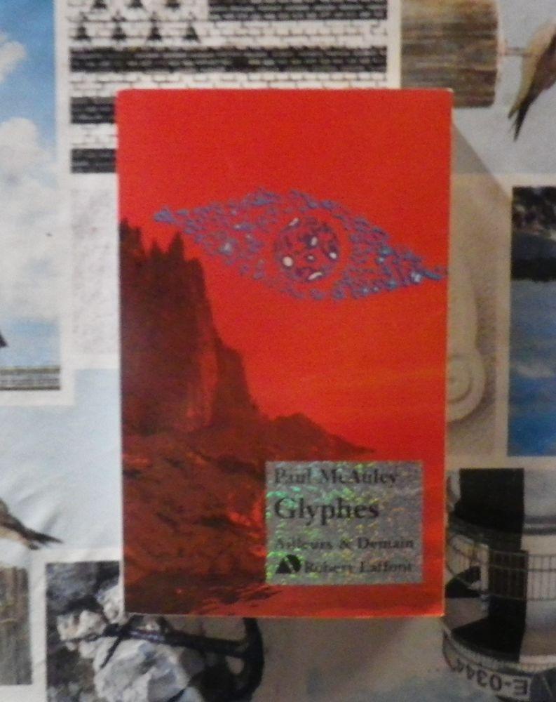 GLYPHES de Paul McAULEY Ed. Robert Laffont 5 Bubry (56)