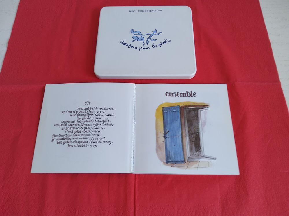 CD J.J. GOLDMAN  chansons pour les pieds  10 Saint-Etienne (42)
