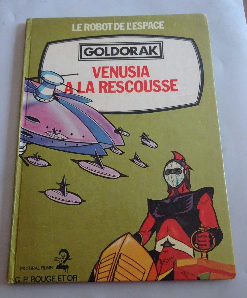 BD   GOLDORAK   LE ROBOT DE L'ESPACE  13 Mondragon (84)