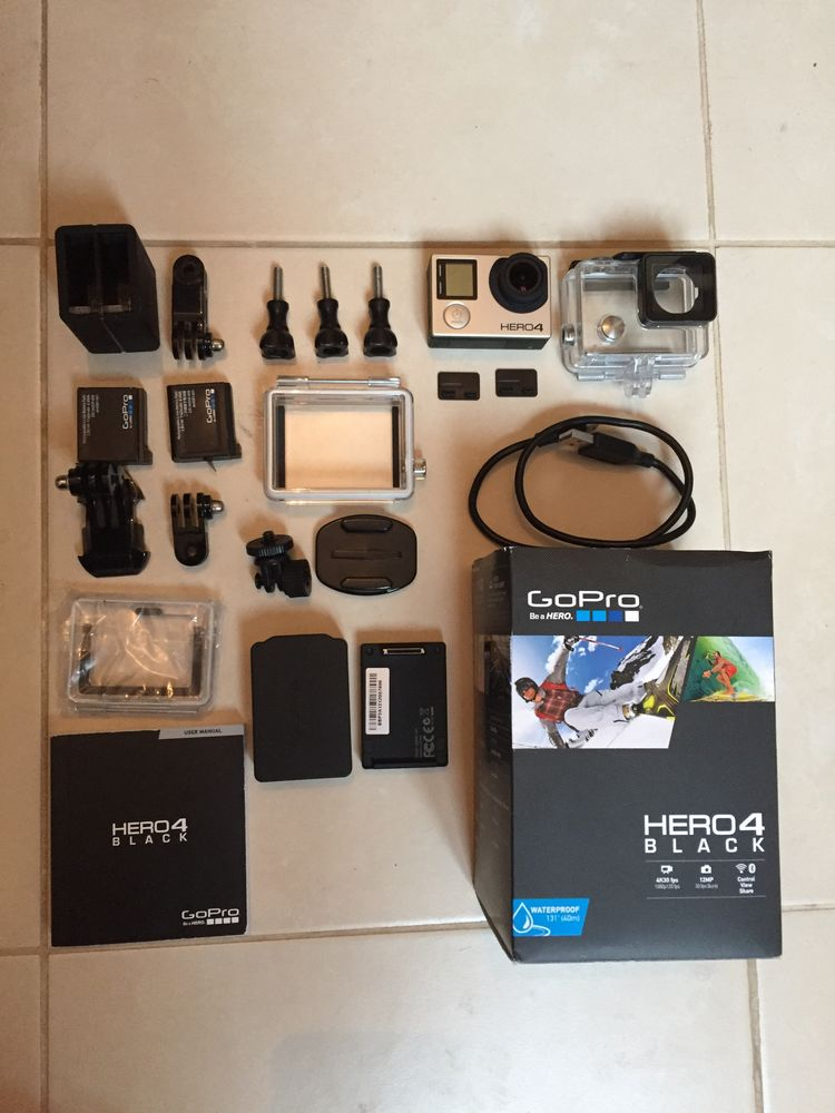 Gopro Hero 4 Black Photos/Video/TV