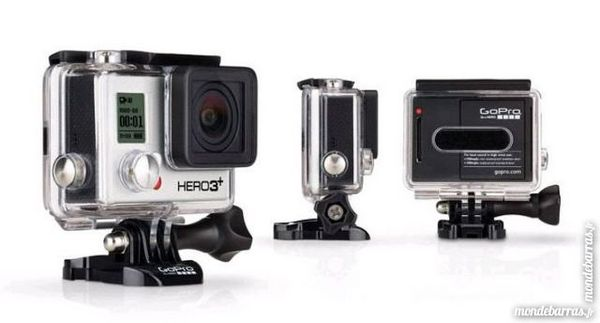 GoPro HERO 3+ Silver Photos/Video/TV