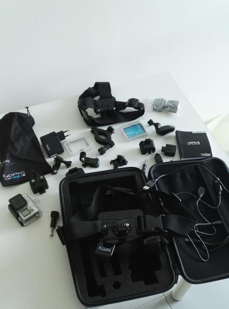 GoPro Hero 4 Silver + accessoires 160 Marseille 11 (13)