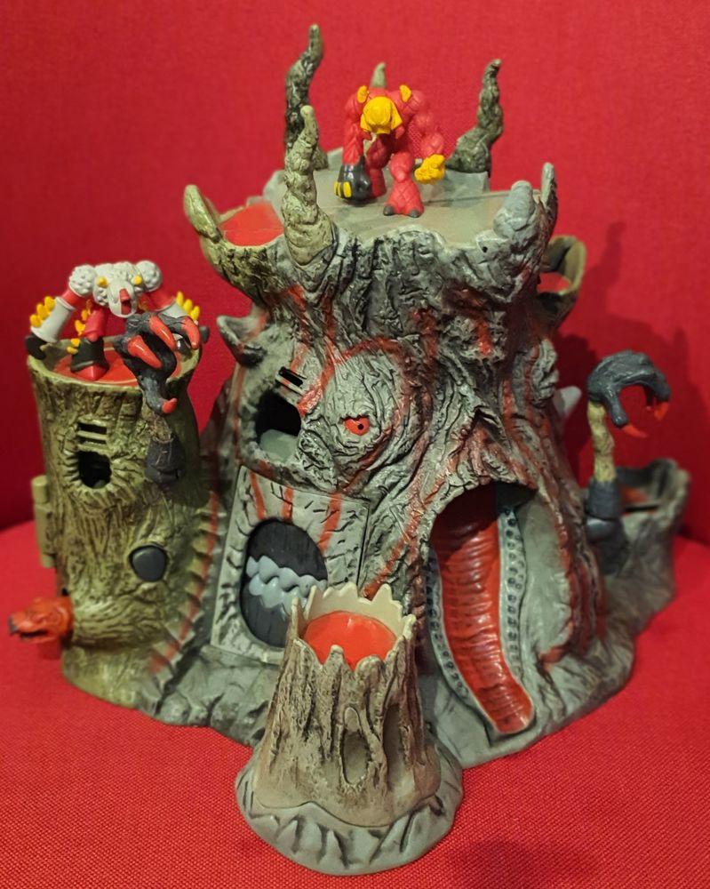 Gormiti temple du peuple du volcan avec 2 figurines 13 Montlignon (95)