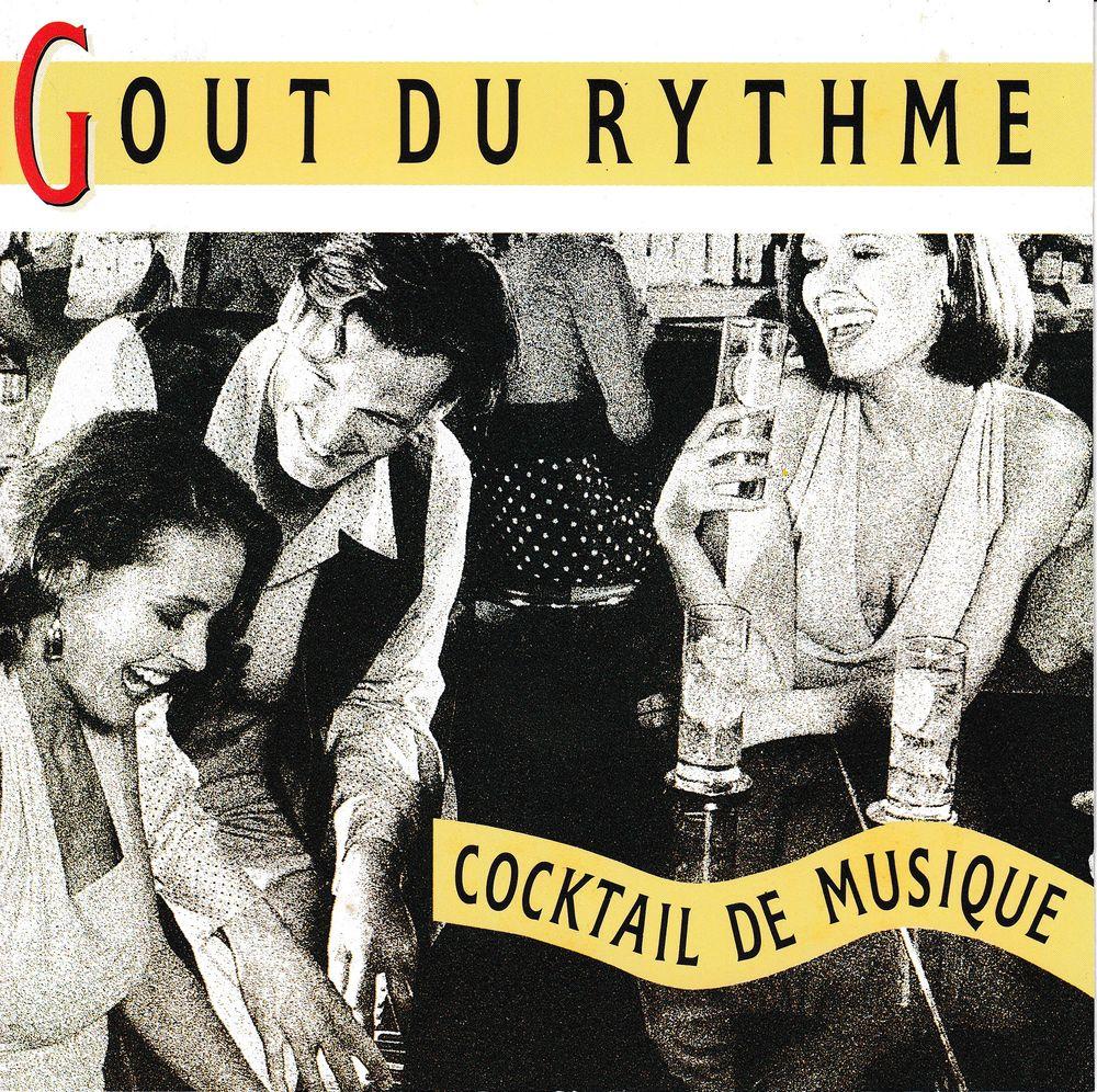 CD Gout Rythme, Cocktail Musique Objet Publicitaire Gordon's 6 Bagnolet (93)