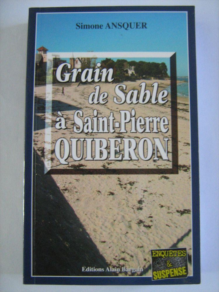 GRAIN DE SABLE A SAINT PIERRE QUIBERON  policier  BARGAIN 3 Brest (29)