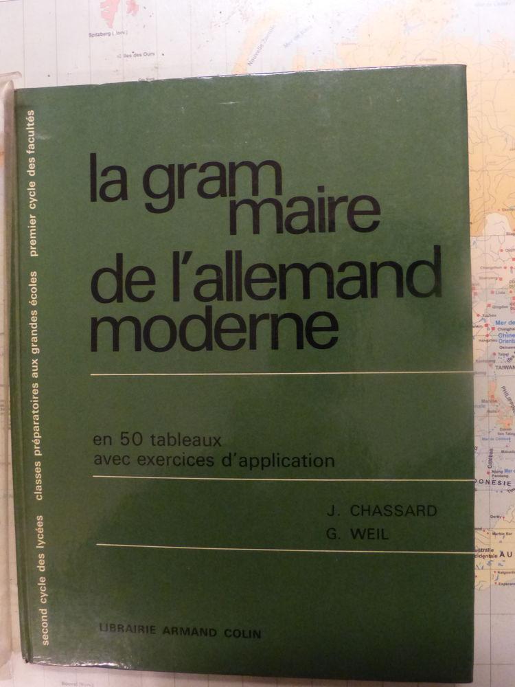 La GRAMMAIRE de l' ALLEMAND MODERNE 5 Roclincourt (62)