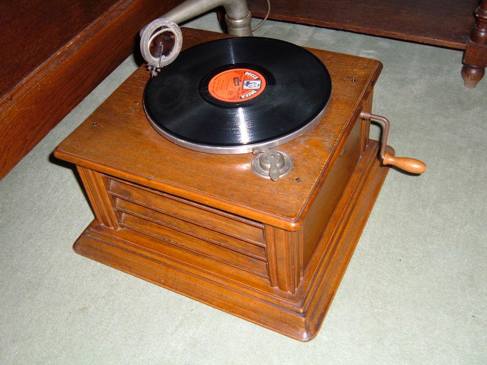 Gramophones et autres TSF de 1930 à 1950