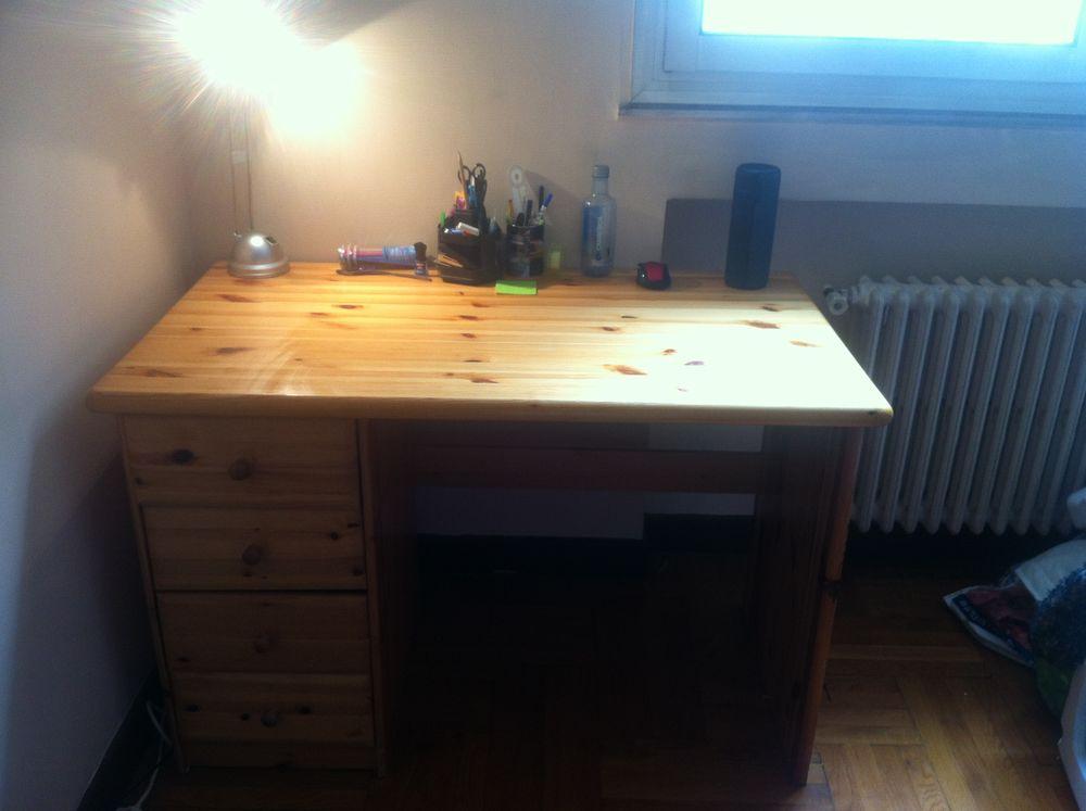 Achetez grand bureau en bois quasi neuf annonce vente à grenoble