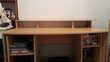 Grand bureau en bois Meubles