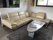 Grand canapé d'angle en cuir Meubles