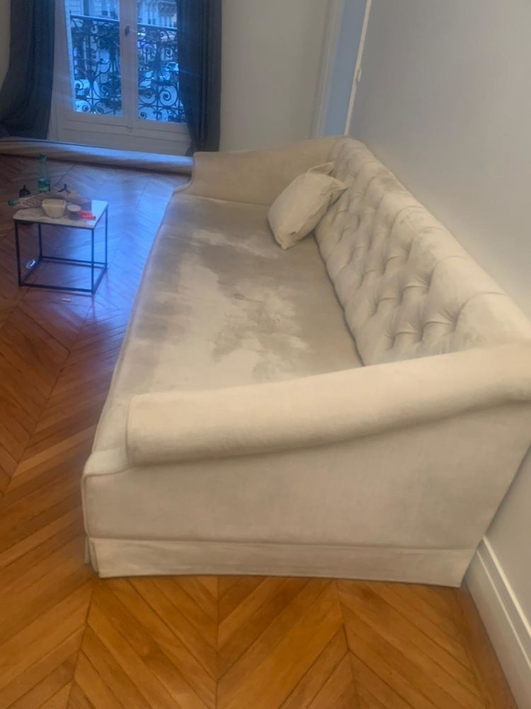 Grand canapé couleur crème de marque SCAPA 400 Herblay (95)