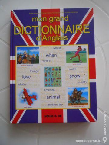 Mon grand dictionnaire d'Anglais pour primaires 14 Rennes (35)