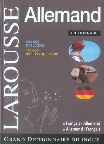 Grand dictionnaire francais -allemand 30 Milly-la-Forêt (91)