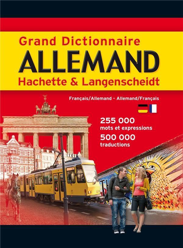 Grand dictionnaire Hachette & Langenscheidt 0 Paris 7 (75)