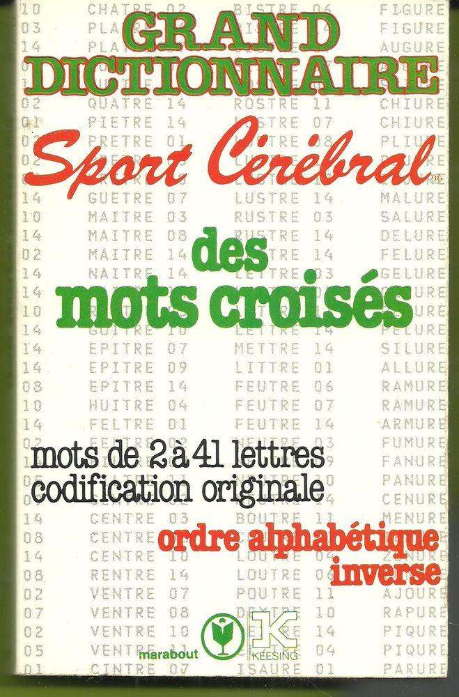 Grand dictionnaire sport cérébral des mots croisés 4 Montauban (82)