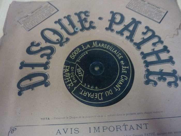 Grand disques GRAMOPHONE 78 trs  20 Saint-Médard-en-Jalles (33)