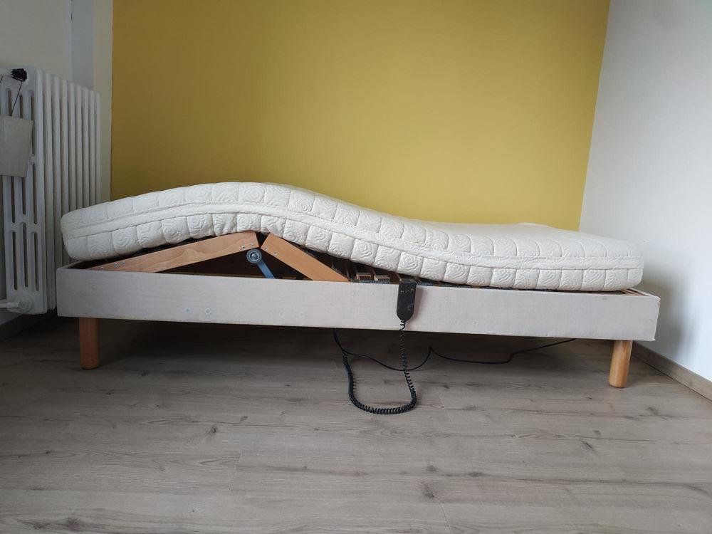 Grand lit électrique TBE 1 Pers 200cm x 90cm Meubles