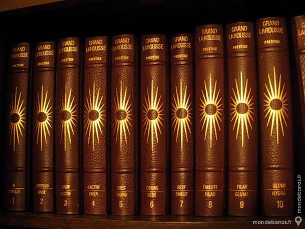 GRAND LAROUSSE  Edition Prestige   22 Volumes 300 Sabres (40)