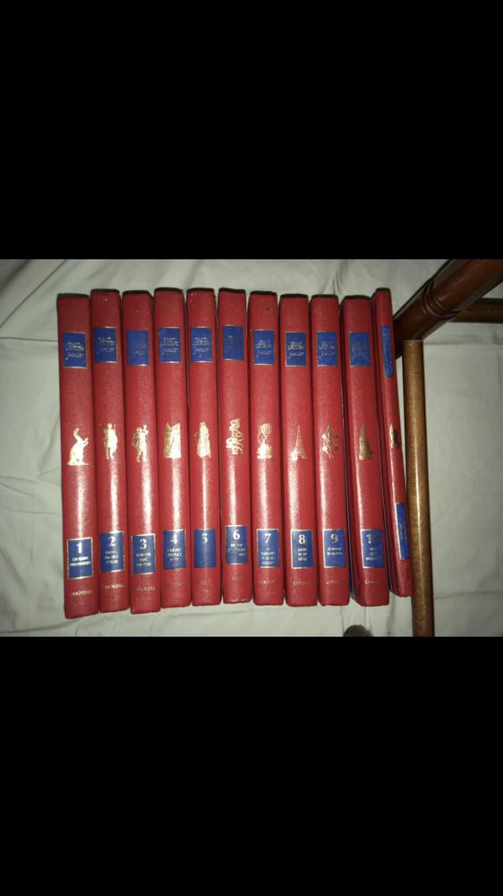 Grand Larousse Junior 10 tomes de livres  150 Sainte-Clotilde (97)