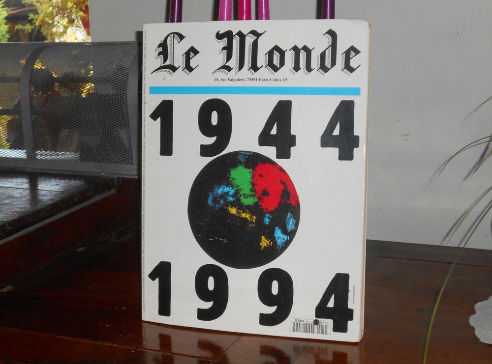 Grand livre Le Monde 1944 1994 Album anniversaire 50 ans 10 Monflanquin (47)
