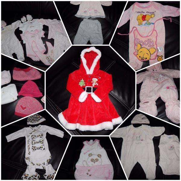 Grand lots de vêtement pour bébé de 0 à 6 mois 8 Andé (27)